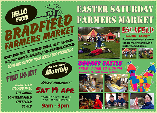 Bradfield Farmers market - Come and Join Us! - February 19th 2011