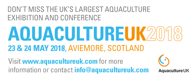 Aquaculture UK - May 24-26 2016 - Aviemore, Scotland, UK