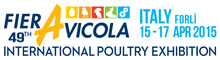 Fier Avicola 49th International Poultry Exhibition - Italy, Forli 15 - 17 April 2015