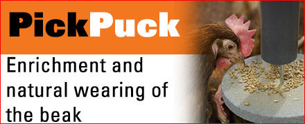 Pick Puck - Top quality and only from Big Dutchman
