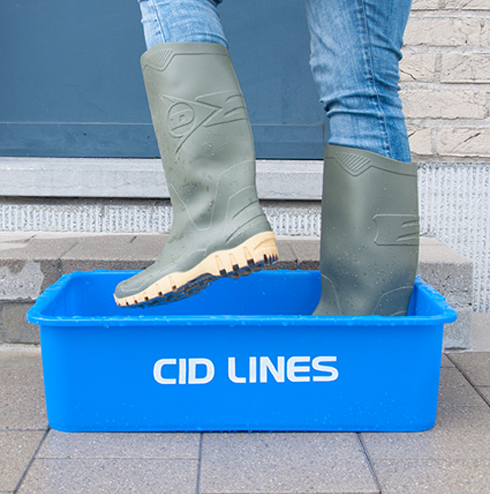 CID Lines - Hand, boot and wardrobe