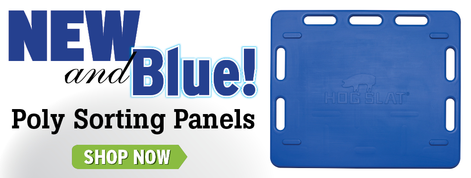 New and blue sorting panels