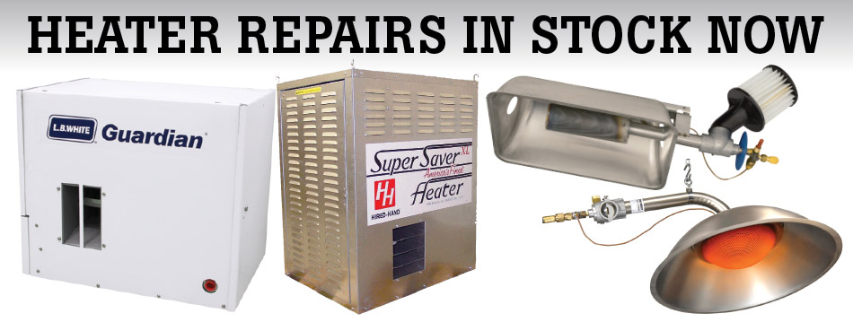 Heater repairs in stock now