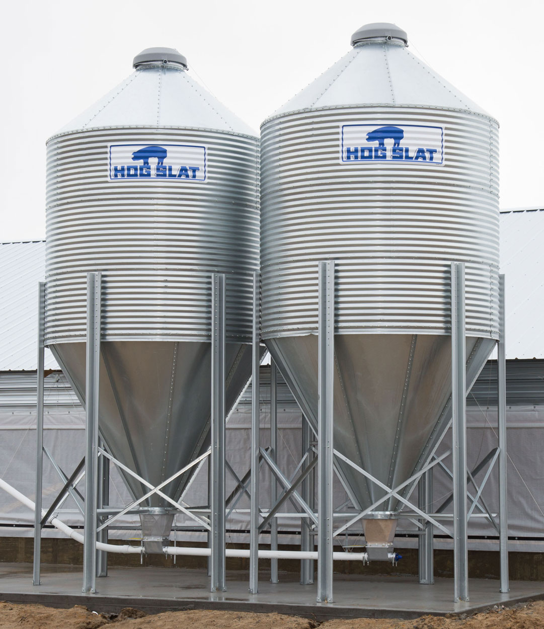 HOG SLAT BULK FEED BINS