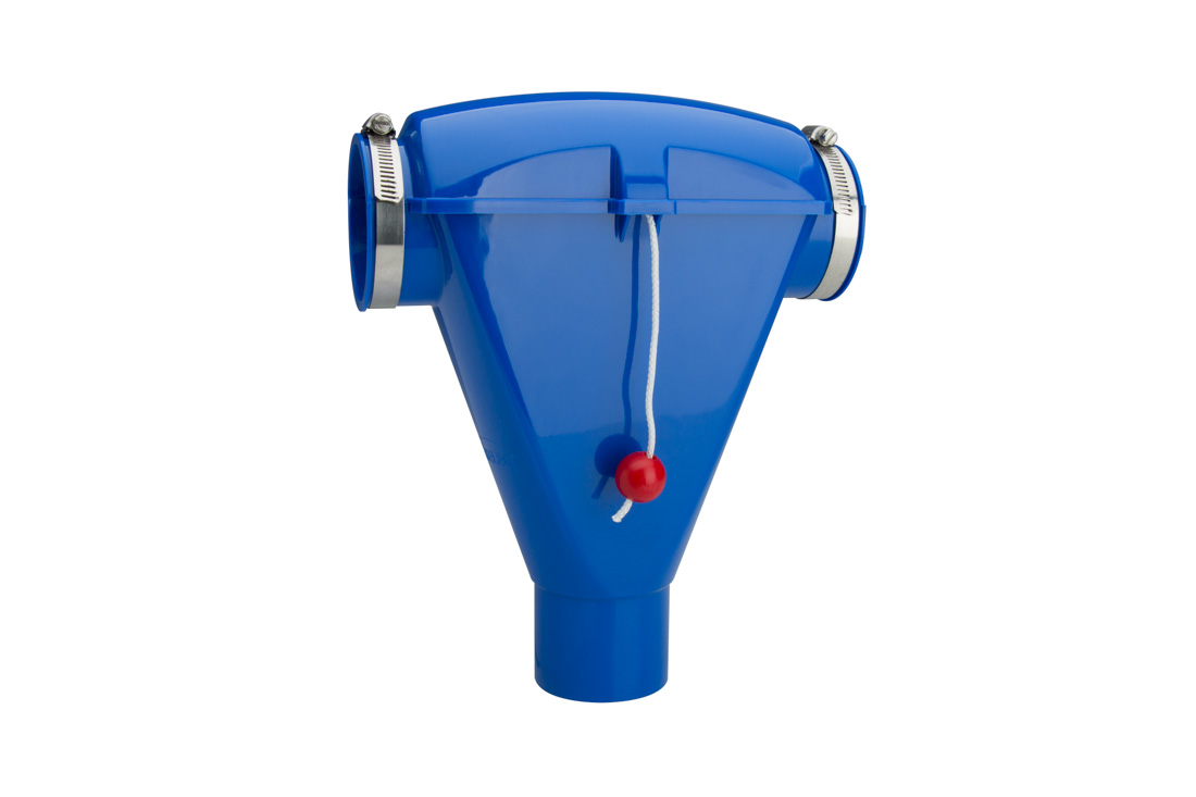 GrowerSELECT drop adaptors are easily installed to provide simple control of feed output on flexible auger feed lines.