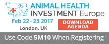 Animal Health Investment Europe - Feb 22-23 London UK