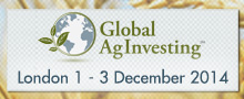 Global AgInvesting - London 1 -3 December 2014