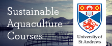 New e-learning course on Sustainable Aquaculture from St Andrews