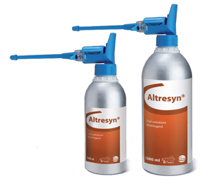 Altresyn (altrenogest) Solution 0.22% for Animal Use ...