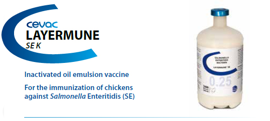LAYERMUNE® SE 0.25 ml: Inactivated oil emulsion vaccine