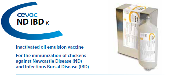 CEVAC® ND IBD K - For the immunisation of chickens against Newcastle Disease and Infectious Bursal Disease from CEVA