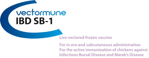 VECTORMUNE HVT IBD & SB1 - for the active immunization of Chickens against Marek Disease and Infectious Bursal Disease VECTORMUNE HVT IBD & SB1 from CEVA