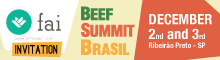 Fai Beef Summit Brazil - 2nd and 3rd December