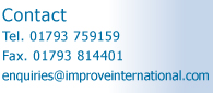 Improve International - Contact:Tel, Fax, Email