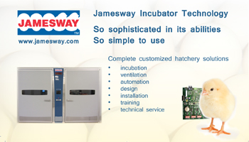Jamesway - the leader in the incubation industry for over 100 years.