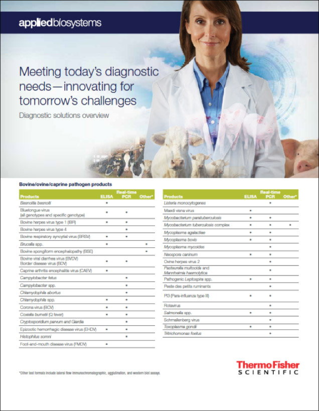 Diagnostic Solutions - ThermoFisher Scientific