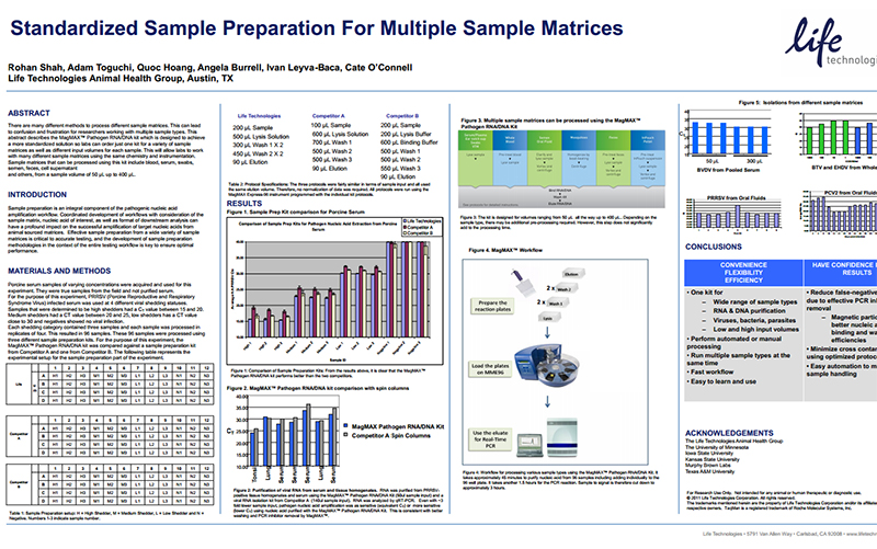 Thermo Fisher Scientific - Standardized Sample Preparation for Multiple Sample Matrices