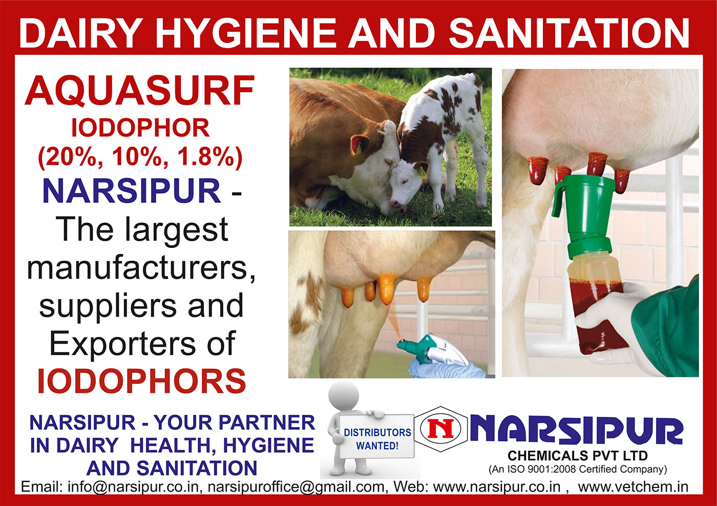 Narsipur Chemicals Private Limited - Your Partner In Biosecurity, Health, Hygiene and Sanitation