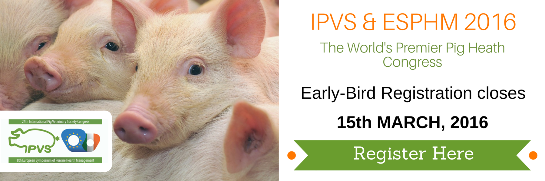 IPVS & ESPHM 2016 - Early-Bird Registration closes