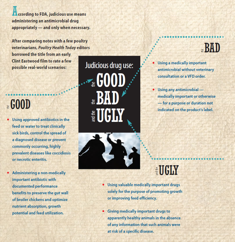 Judicious drug use: The good, the bad and the ugly
