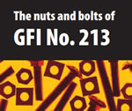 The nuts and bolts of GFI No. 213