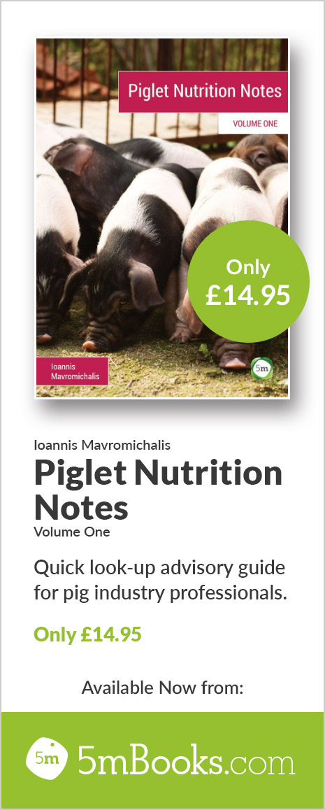 Piglet Nutrition Notes - 5m Books