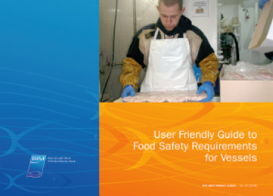 User Friendly Guide to Food Safety Requirements for Vessels