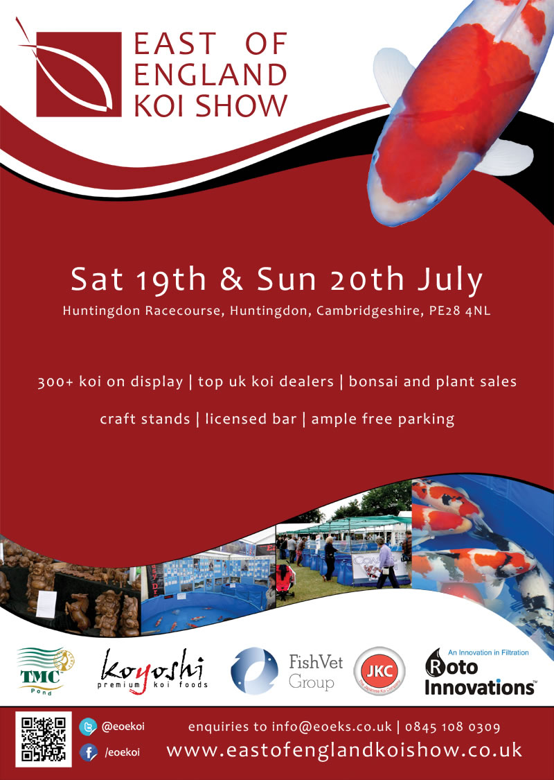 East of England Koi Show - 19th/20th July